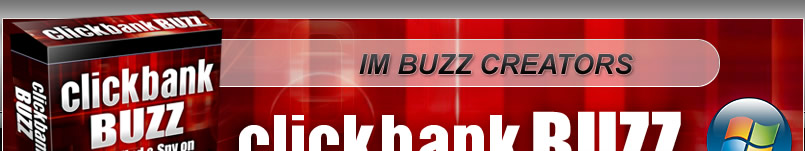 ClickBank Buzz software This powerful affiliate research tool for sale