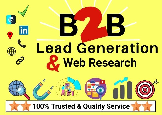 100 targeted Quality B2B Lead Generation