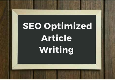 1000+ Words Article Writing With SEO Friendly Effective Description