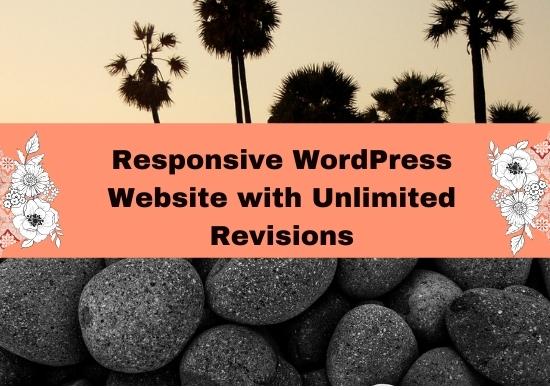I will make responsive WordPress website design,  blog or WordPress website