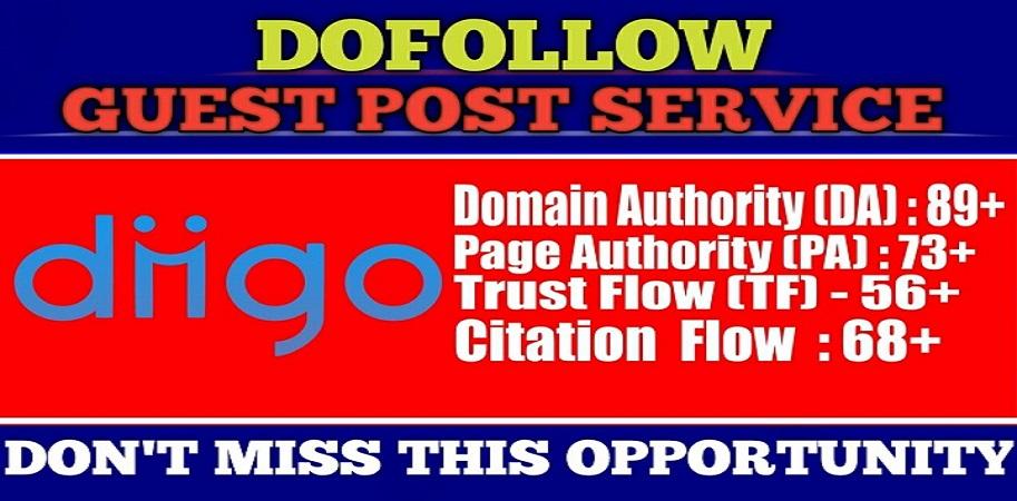 Write And Publish Guest Post On Diigo da 90