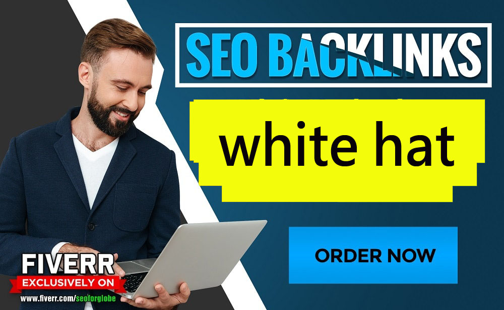 I will high quality do follow SEO backlinks da 50 plus authority white hat link building