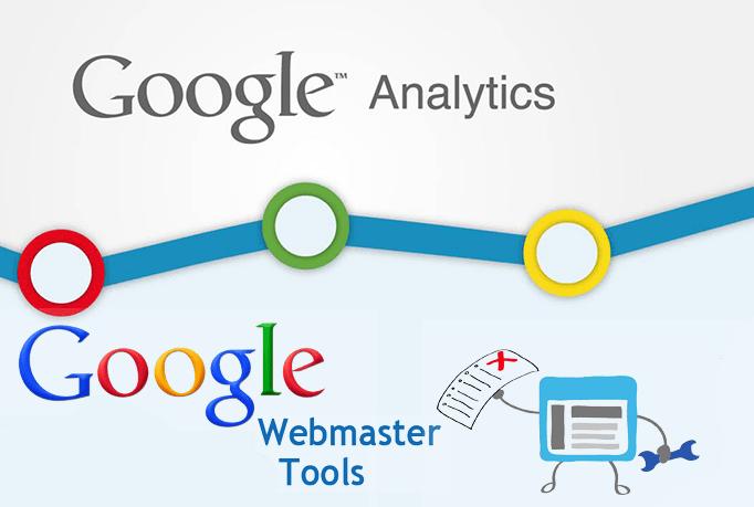 I will setup google analytics webmaster tools and sitemap