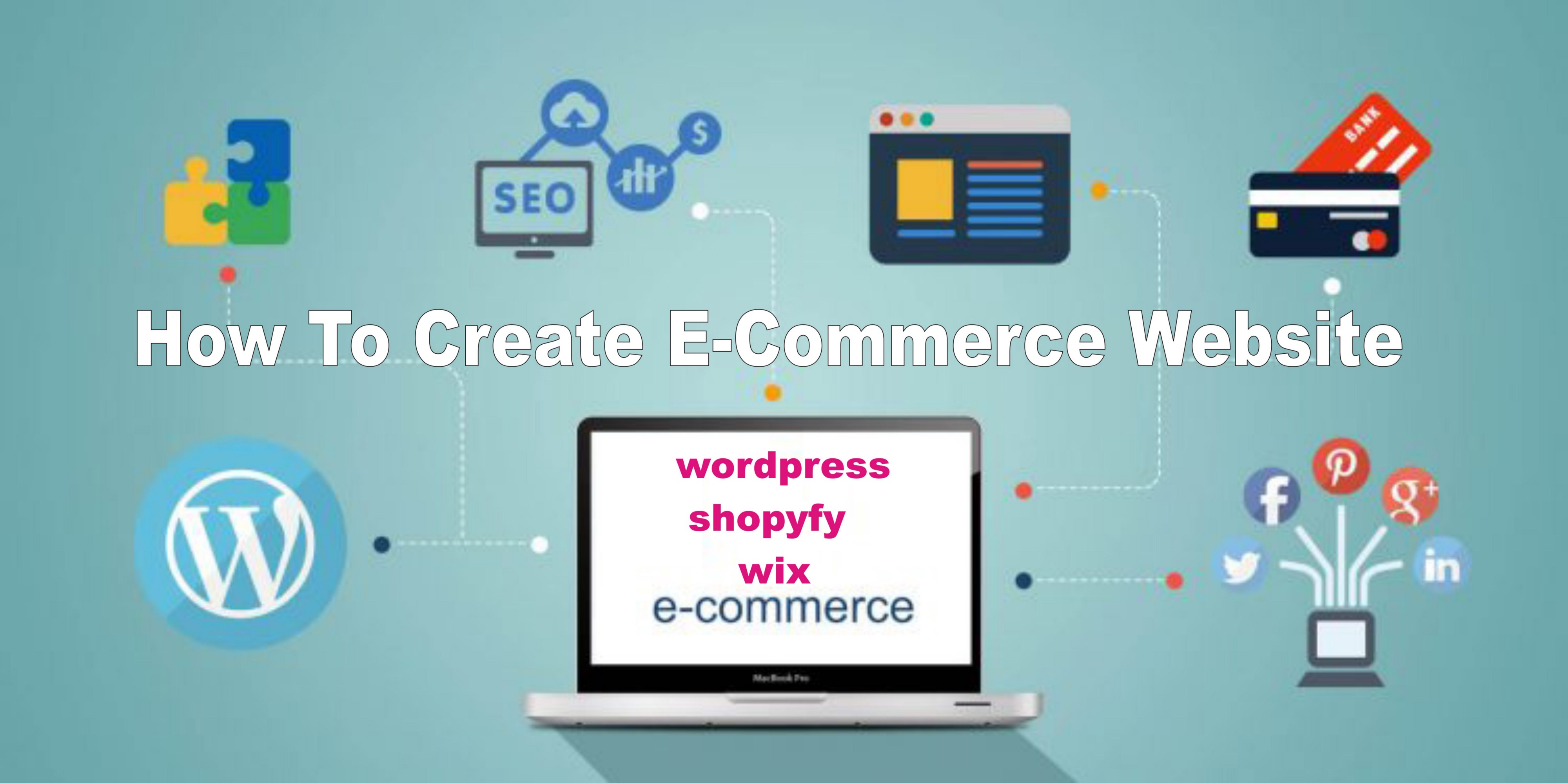 I will build ecommerce website store with wordpress,  woocommerce,  Shopify,  Wix