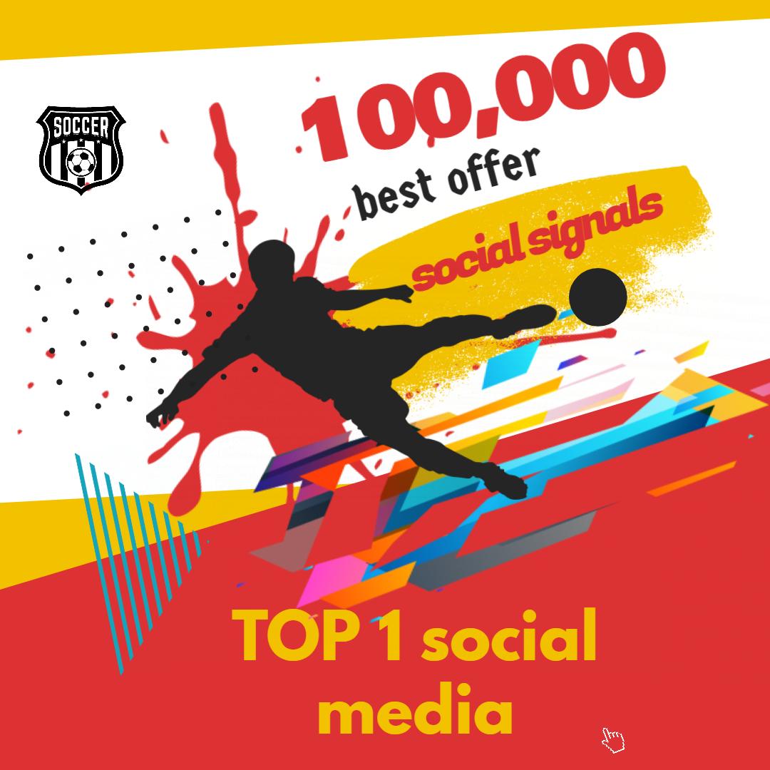 Bookmarking 100,000 TOP 1 social media Social Signals From Social Networking