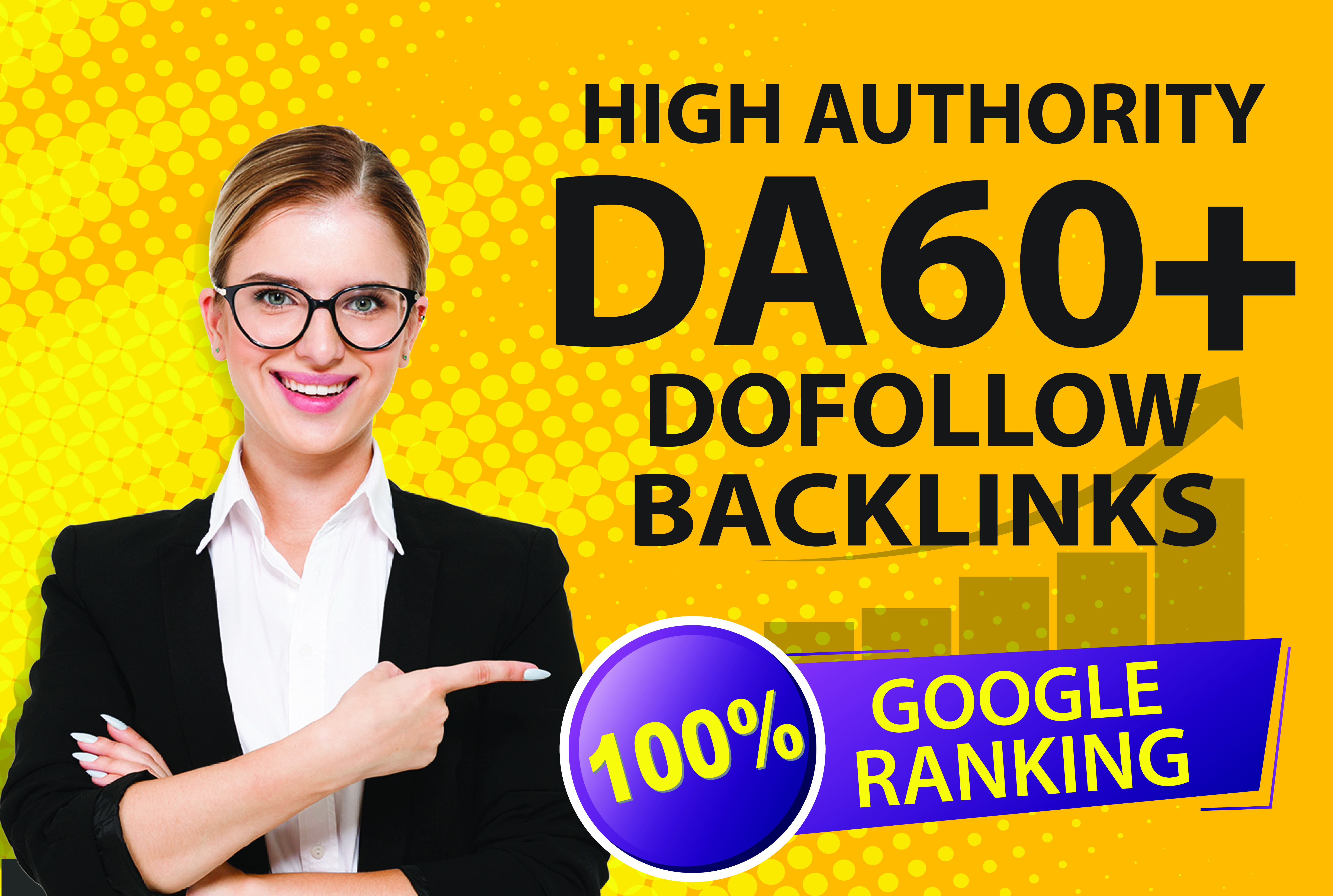I will create powerful dofollow SEO backlink for Google ranking services