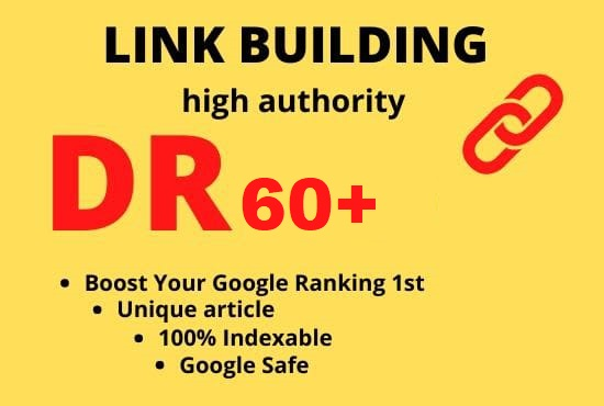 I will create 5 DR 70 PLUS HQ Permanent Homepage PBN dofollow backlinks