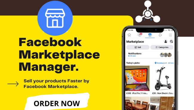 Help you to list your product on Facebook Marketplace to faster your sales