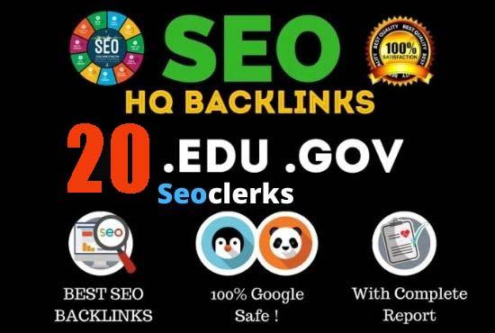 Create 20+ US Based Authority. edu. gov Links for Increase Rank