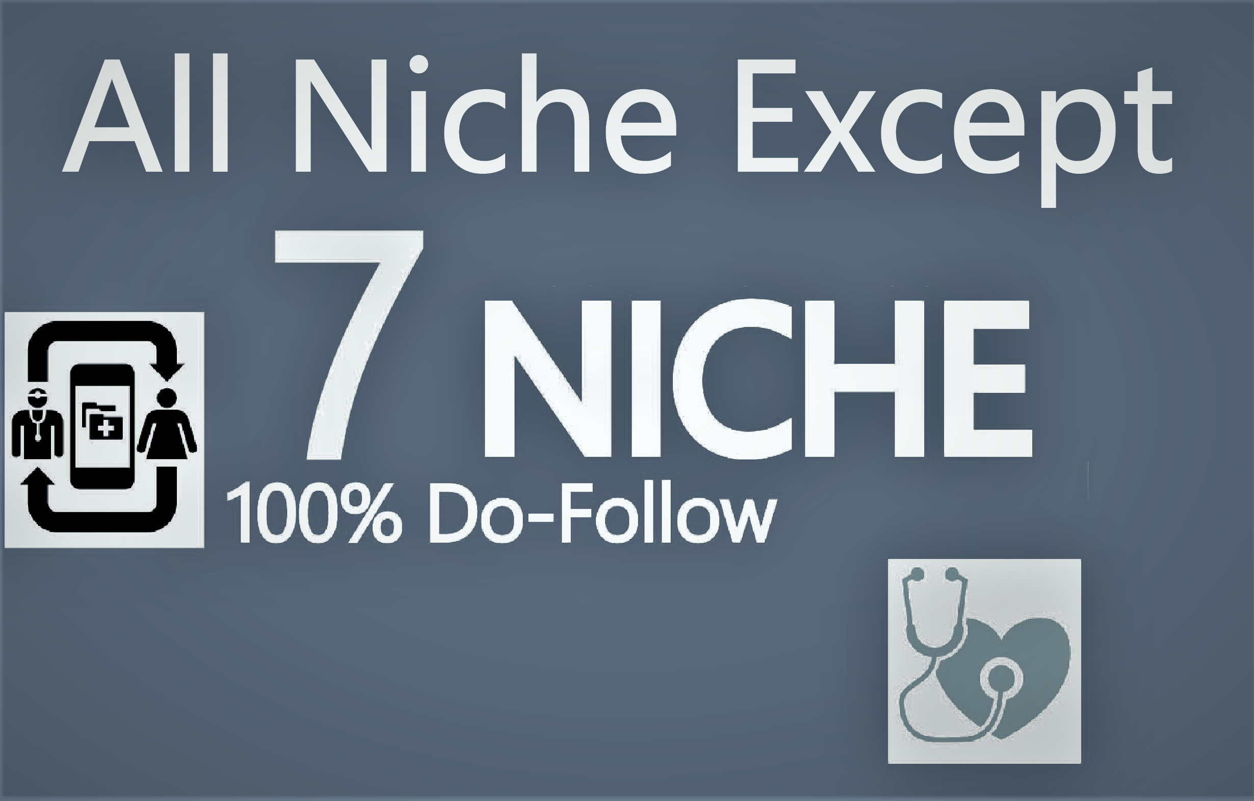 top quality do follow 7 niche related blog comment