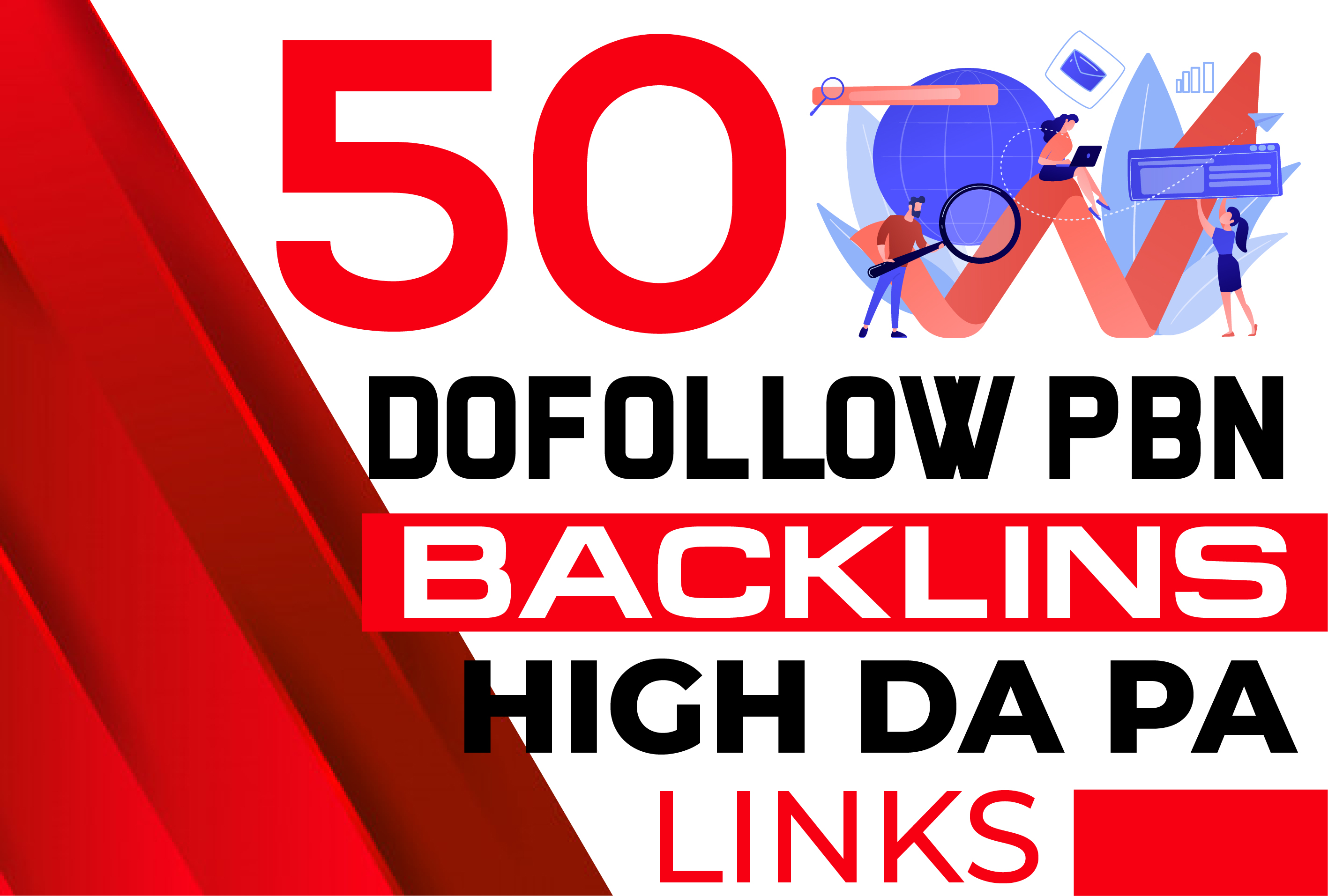 You will Get 50 Web 2.0 PBN Dofollow Backlinks improve your website ranking