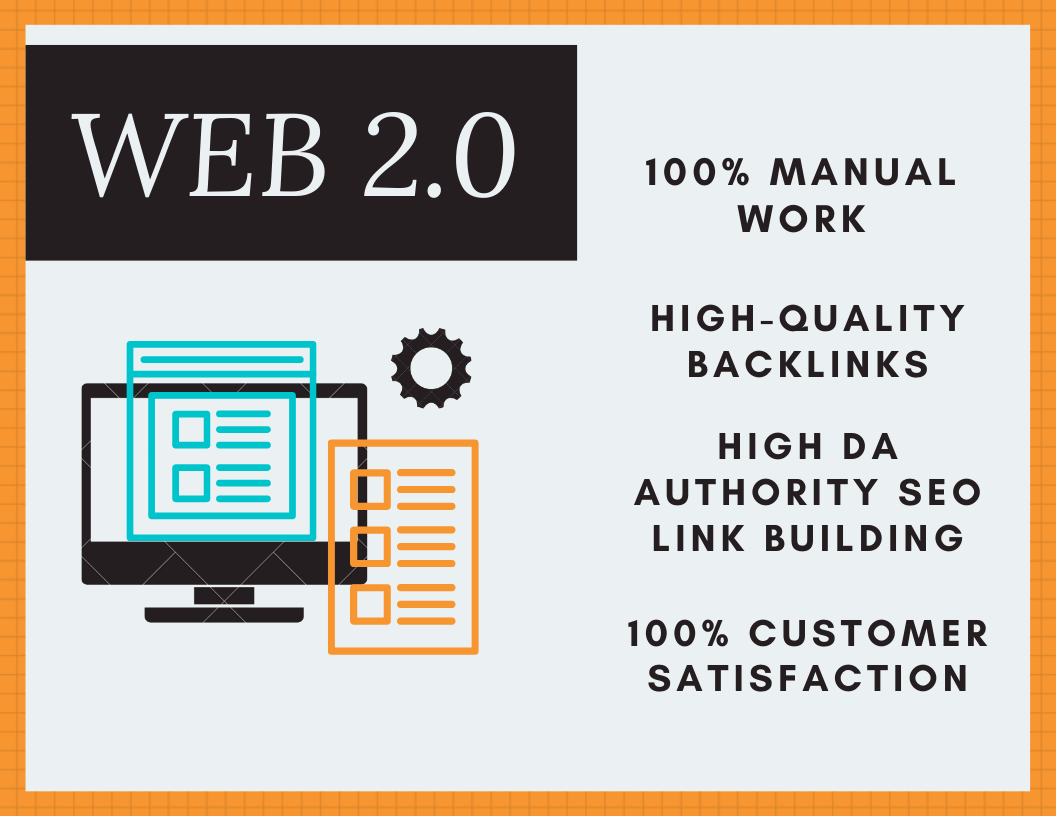 Looking for Web 2.0 backlinks. I want to build 40 high authority manual web 2.0 backlinks.