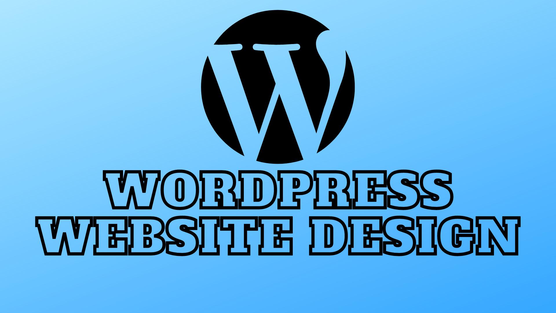 I will Creat wordpress business website design, blog, portfolio website,  wordpress
