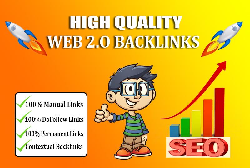 I will create 150+ high authority dofollow contextual SEO backlinks