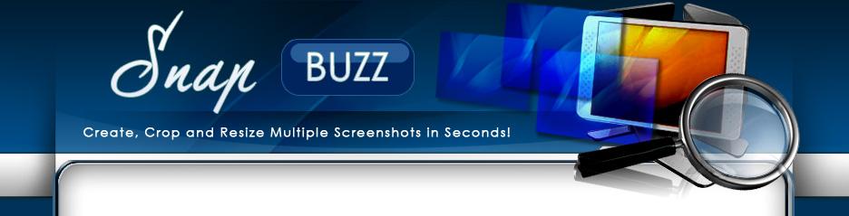Snap Buzz &ndash Rebrandable for automatic Screen Capture
