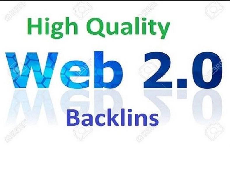 I Will Create 15 Web2.0 backlinks High Domain Authority Backlinks