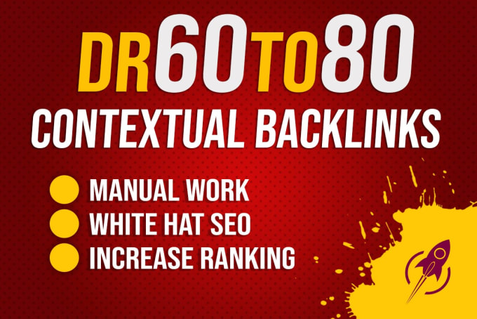 I will provide DR 60 to 80 high quality dofollow 10 pbn backlinks