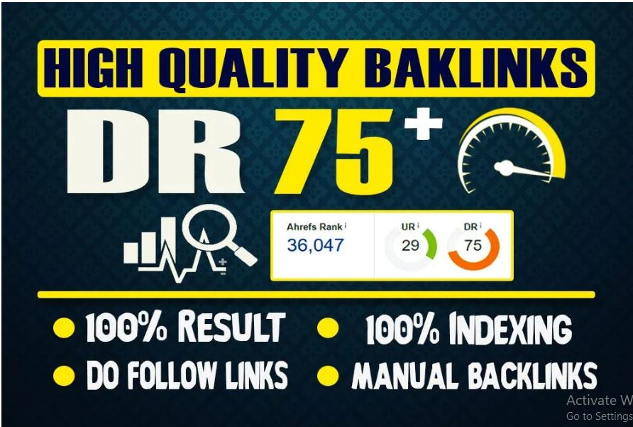 I will provide you 10 high DR 60 to 80 dofollow PBN backlinks