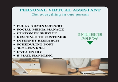 I Will Be Your Administrative Virtual Assistant For Facebook
