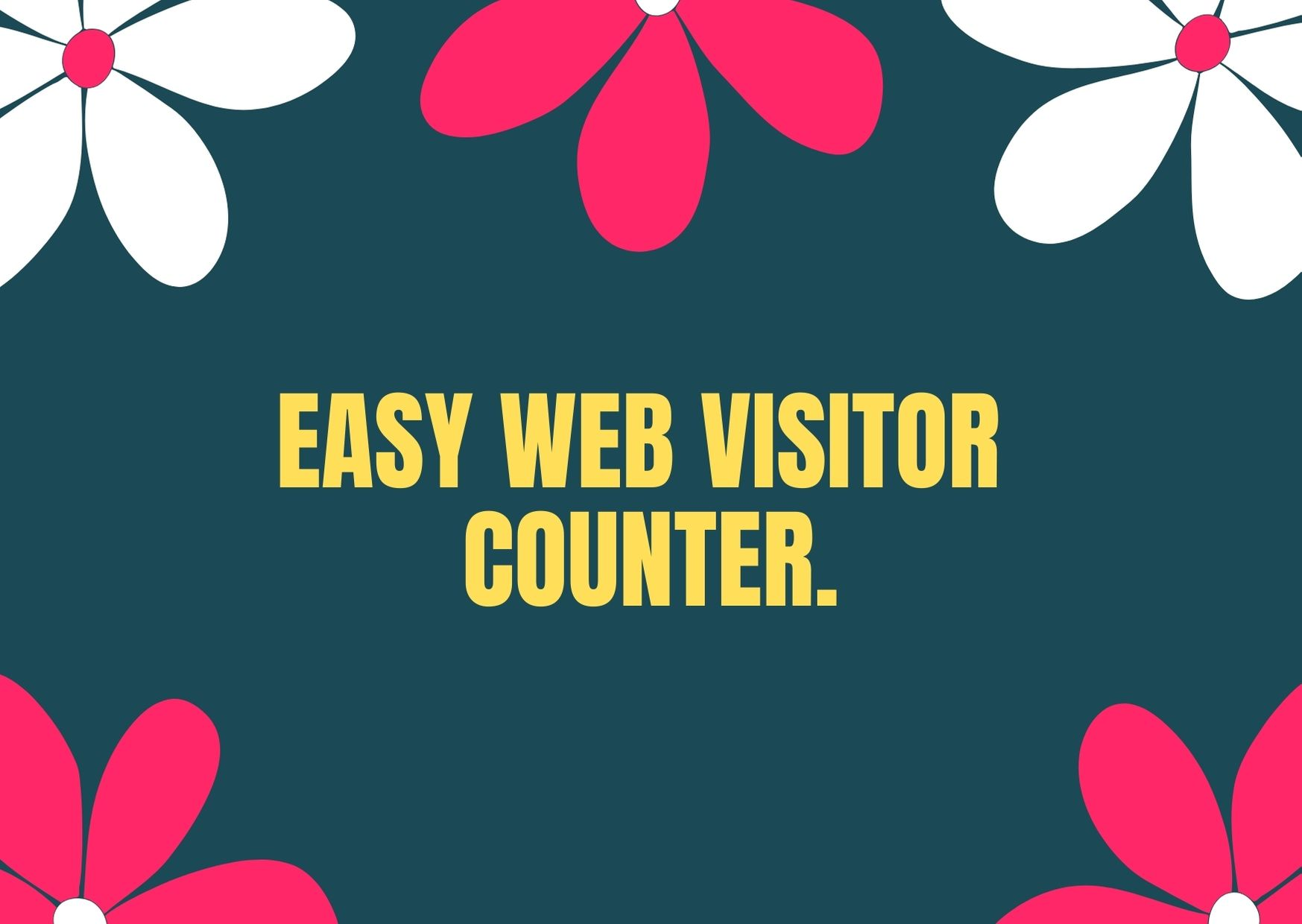 100 free Easy Web Visitor Counter 2021