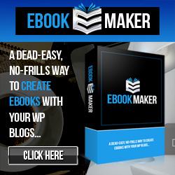 WP Ebook maker plugin software