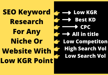 I will provide 30 Advanced SEO keyword research including all the major elements required