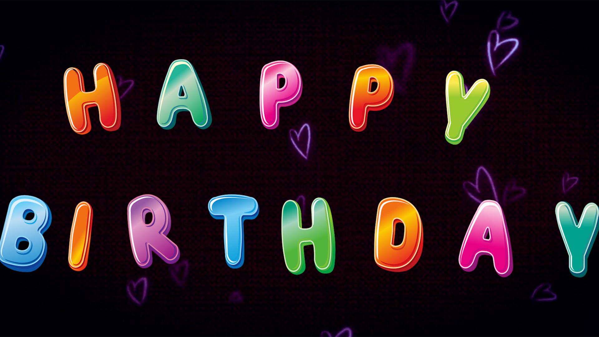 I will make create an amazing happy birthday photo slideshow video