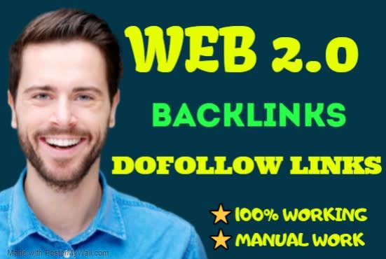 create 1000 Web 2.0 High DA PA Backlinks