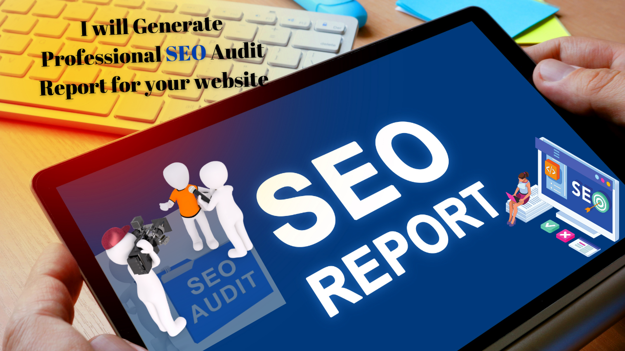 I will create an actionable SEO audit report with long term actions