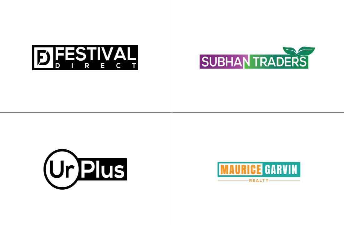 I will design a professional modern minimalist business logo