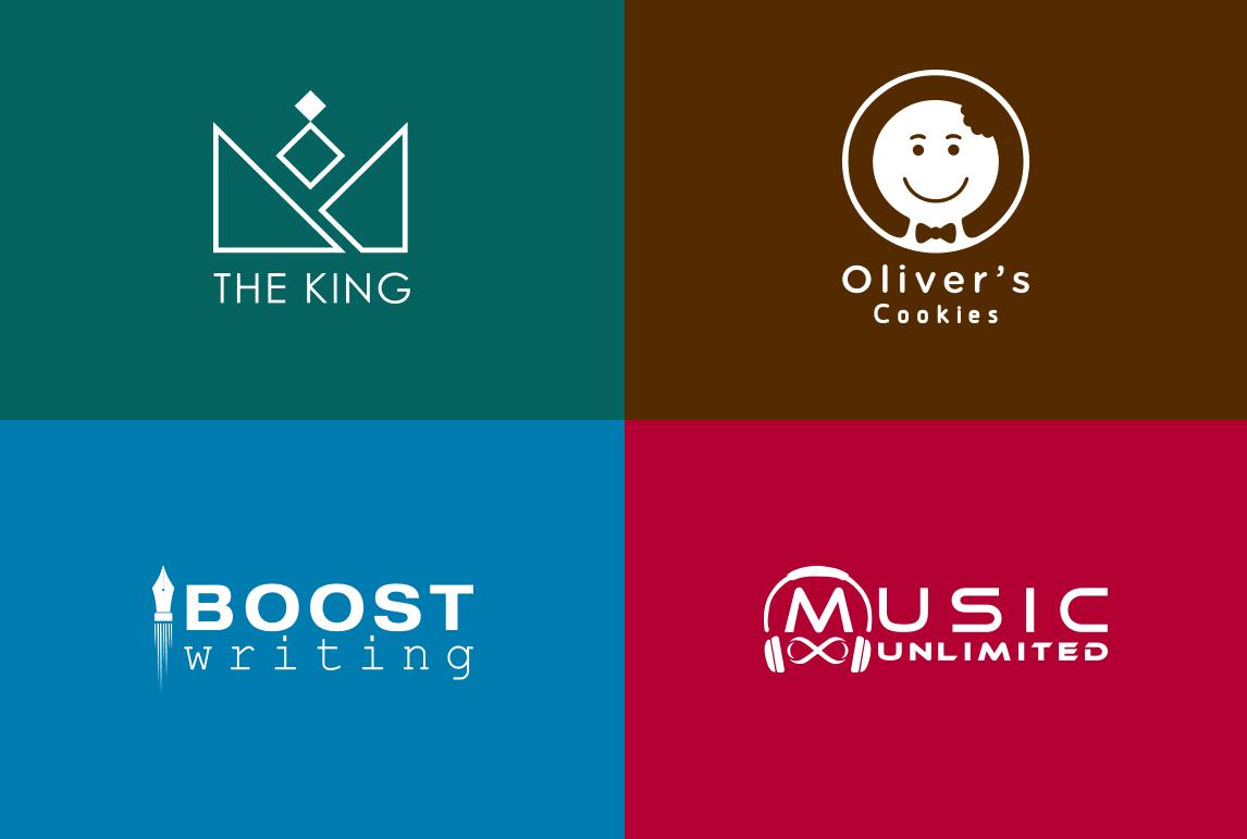 I will design creative 3 modern minimalist logo design