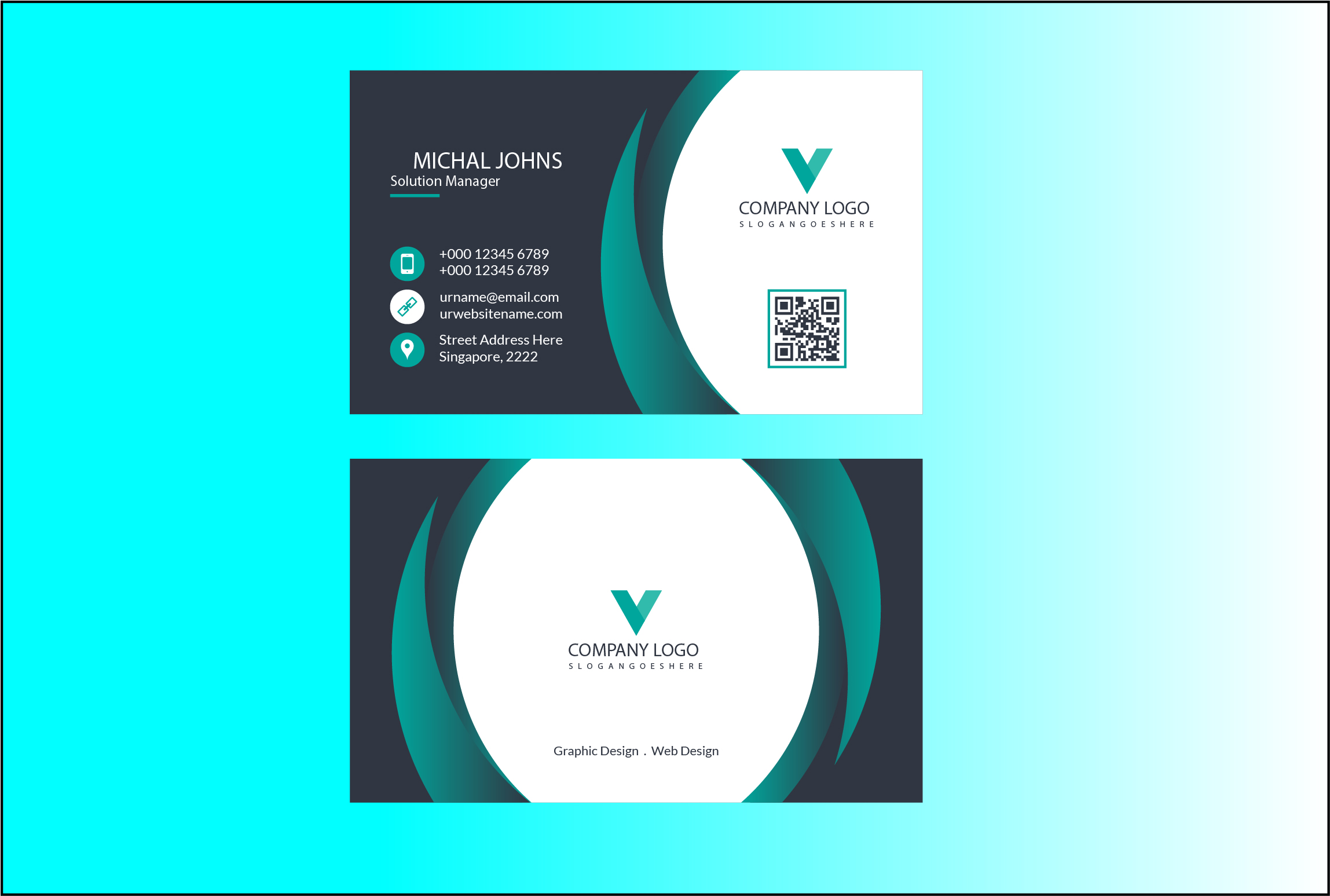 i will create luxury business card for you