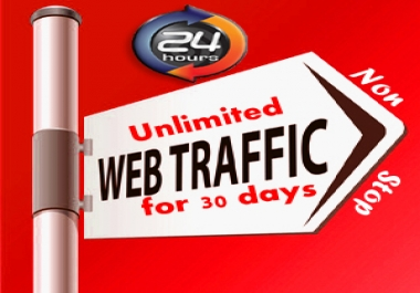 UNLIMITED HUMAN TRAFFIC BY Google ✺ › Twitter ✺ › Youtue and many more to web site for 30 days