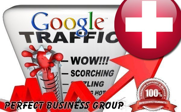 Organic traffic from Google.ch Switzerland with your Keyword