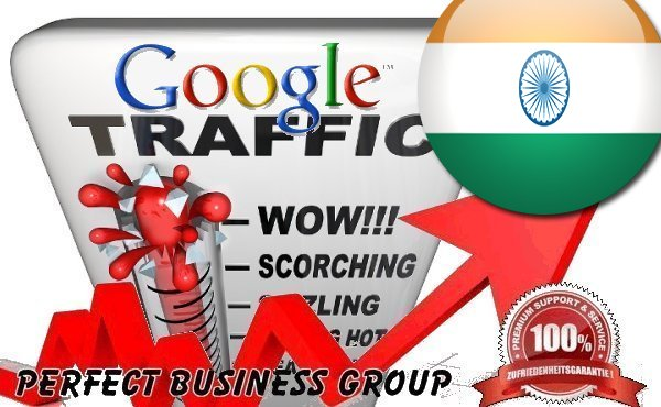 Organic traffic from Google.co.in India with your Keyword