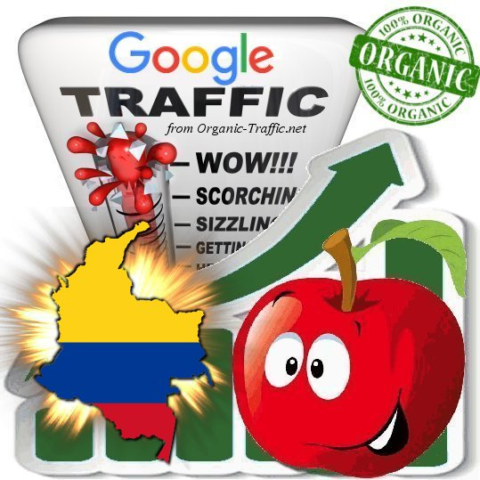 Colombian Search Traffic from Google. com. co Keyword based