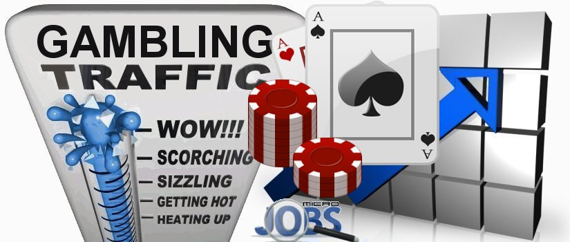 Organic traffic for Gambling sites Casino