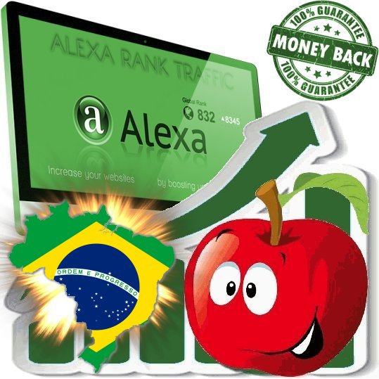Increase your Brasilian Alexa Rank Brazil