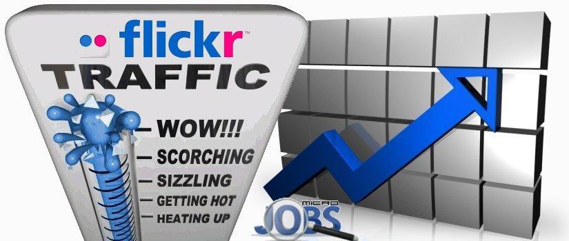 Social Traffic from Flickr