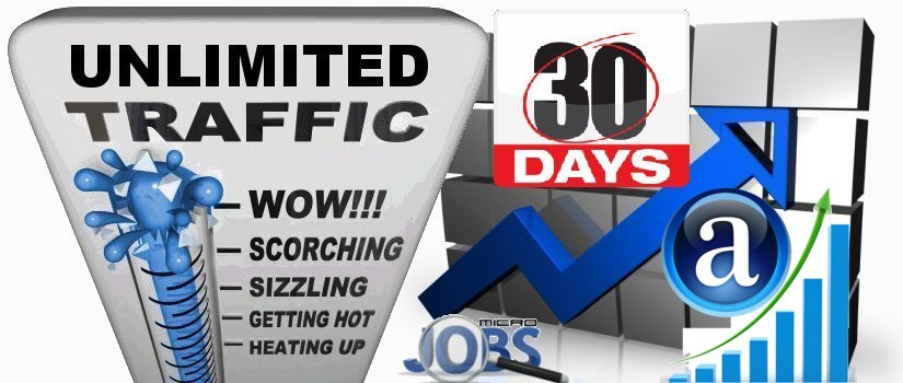 SEO + Alexa Web Traffic Mix 30 days