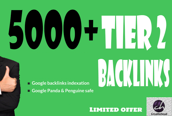 Give You 5000+ Tier 2 Backlinks
