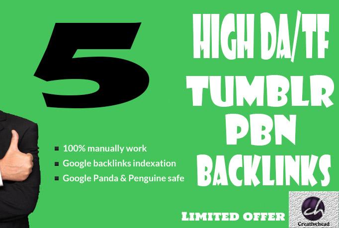 5+ Tumblr Pbn Blog Post Links DA 99 and PA 28+