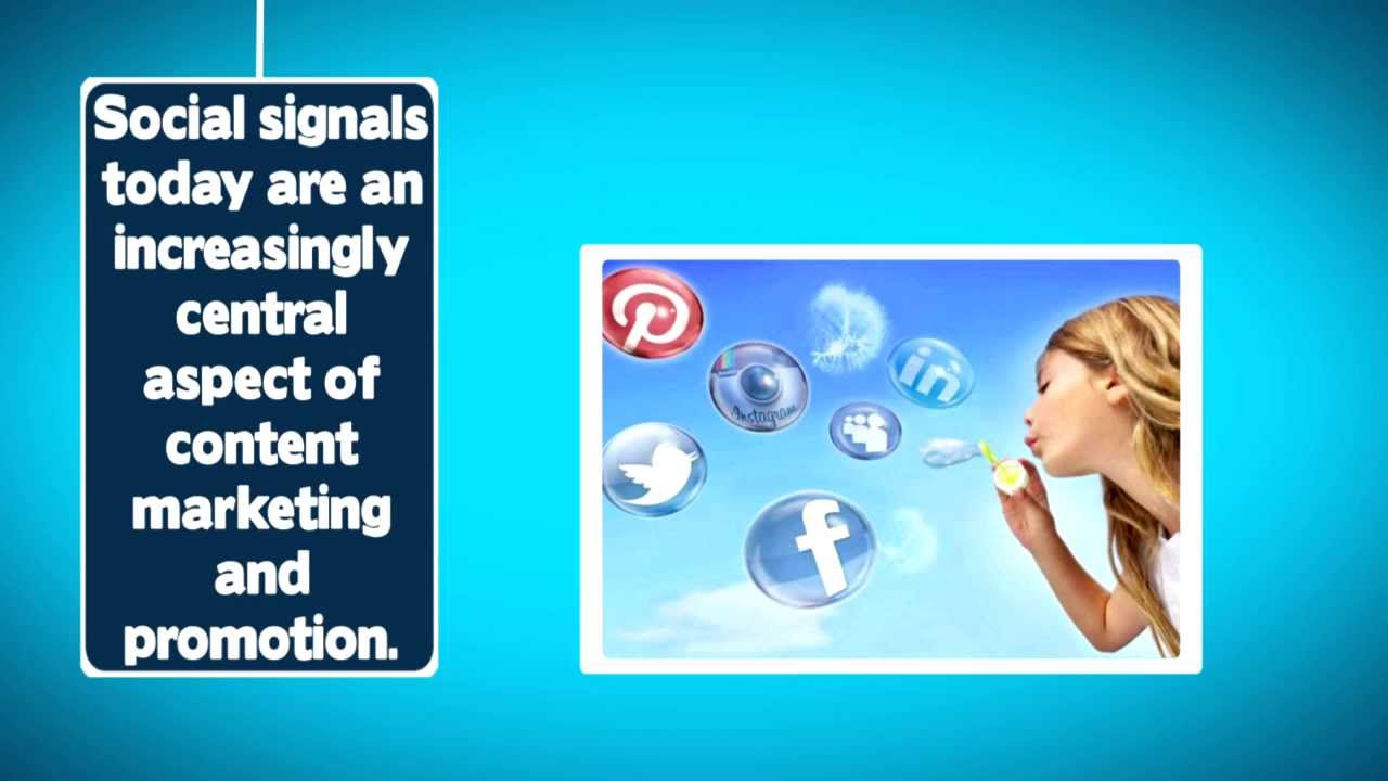 provide over 1850 Real Organic Social SIGNALS From The Top 5 Social Networks