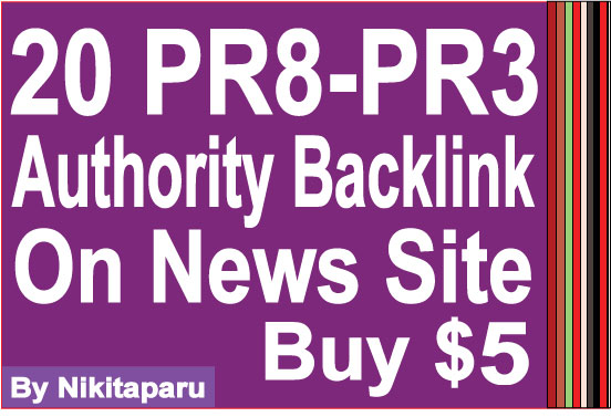 20 High Authority PR9 News Sites Profile Links
