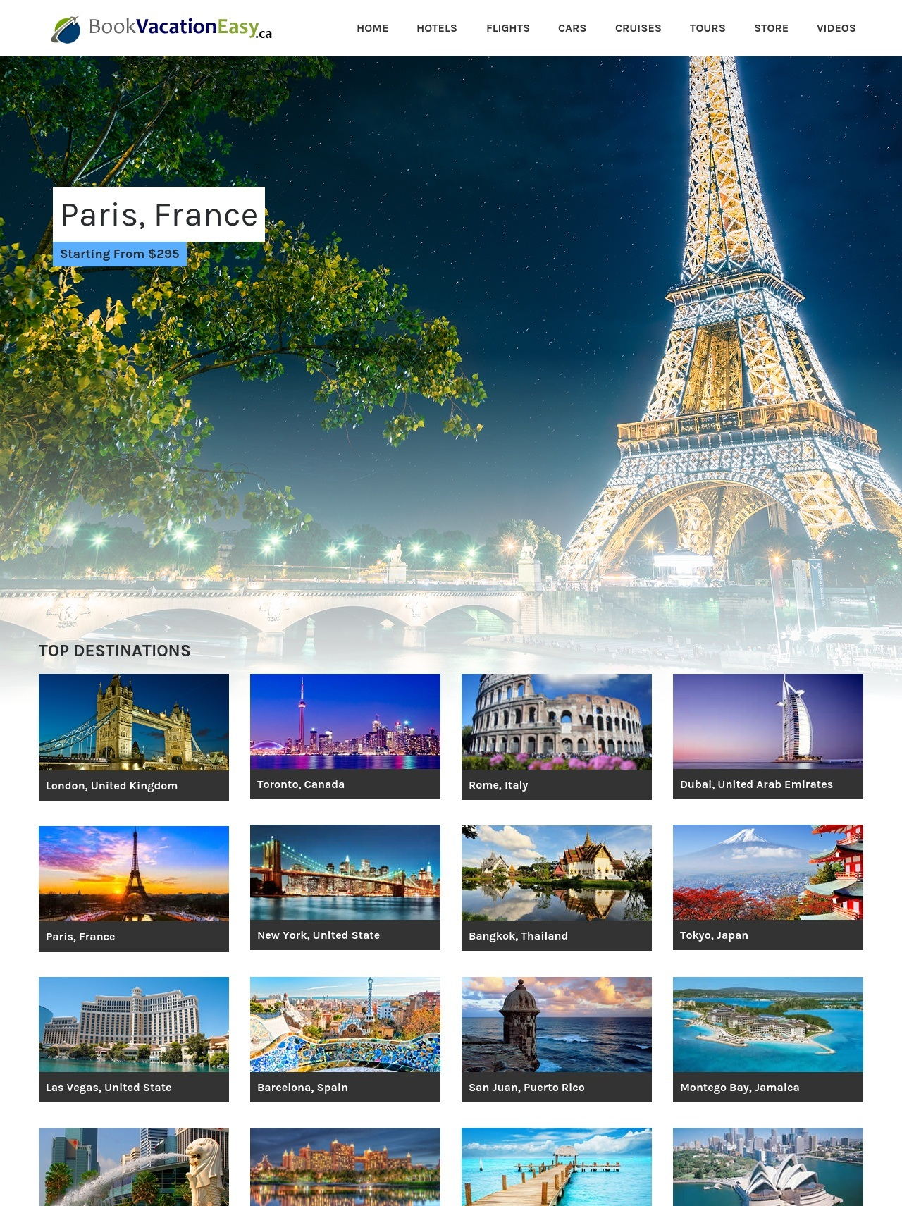 Travel search engine website with affiliates, free h...