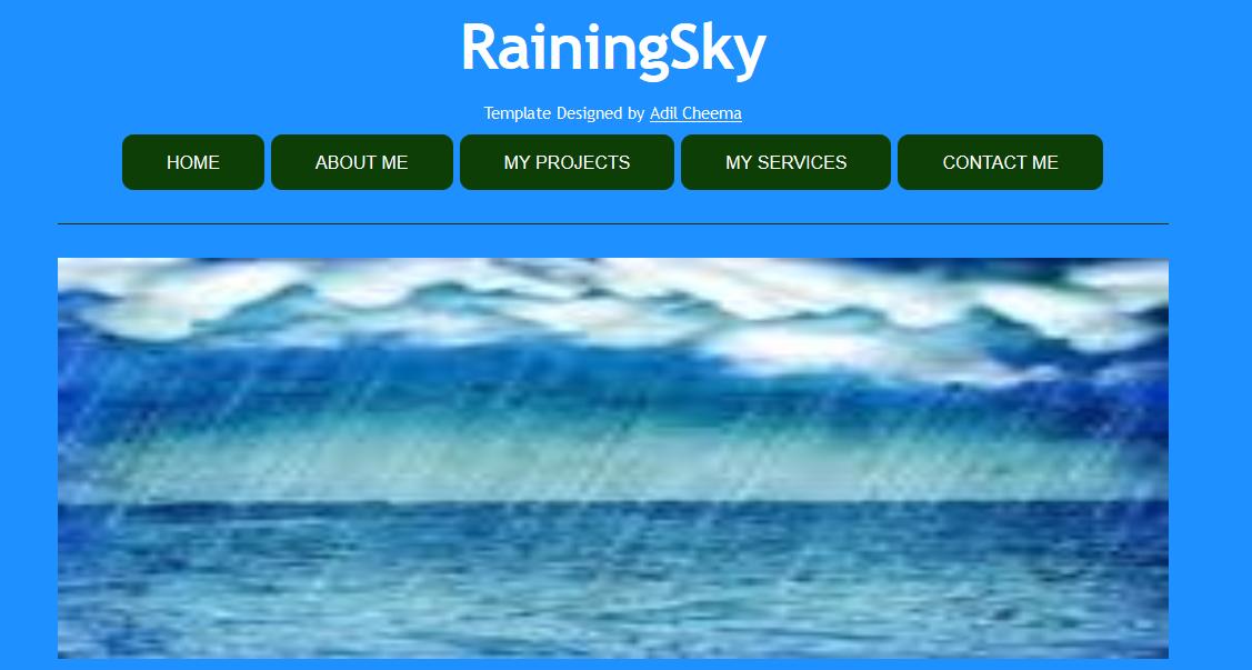 Raining Sky Theme