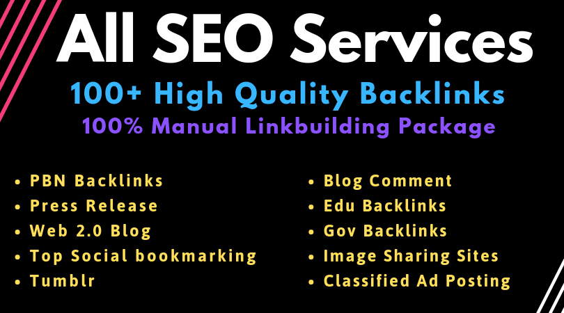 Manual SEO Link Building Services