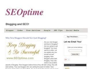 SEOptime  SEO and Blogging
