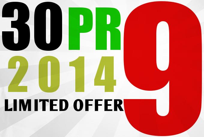 manually do 30 PR9 Safe High Pr Backlinks dofollow edu....