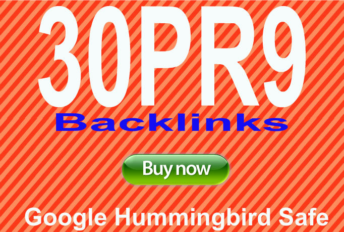 Provide 30 PR9 backlinks from 30 unique PR9 Authority websites best for Seo
